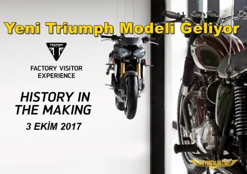 Yeni Triumph Modeli Geliyor