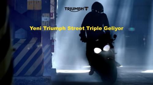 Yeni Triumph Street Triple Geliyor