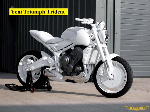 Triumph Yeni Bir Naked Modeliyle Geliyor