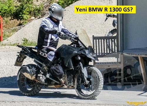 BMW R 1300 GS Test Edilirken Görüntülendi