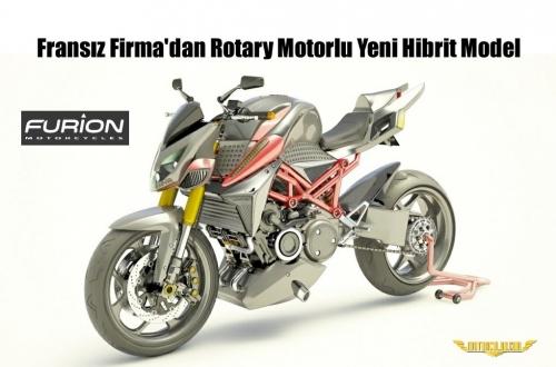 Fransız Firma'dan Rotary Motorlu Yeni Hibrit Model