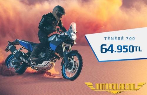 Yamaha Tenere 700'ün Fiyatı Açıklandı