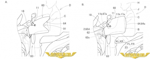 Yamaha'nın Airbag Patenti