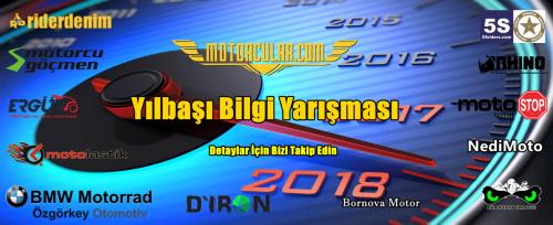 Motorcular Yılbaşı Bilgi Yarışması