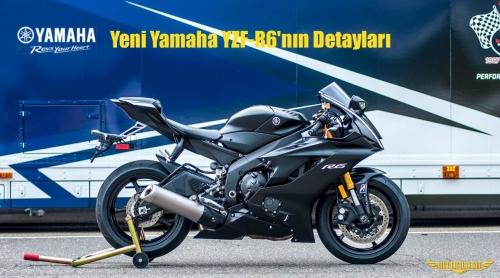 Yeni Yamaha YZF-R6'nın Detayları