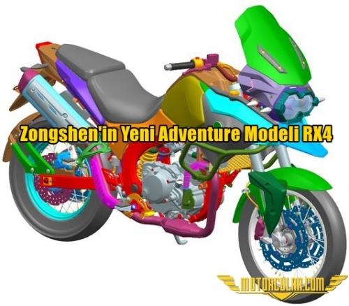Zongshen'in Yeni Adventure Modeli RX4