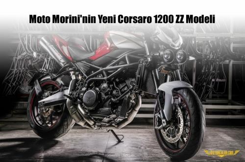 Moto Morini'nin Yeni Corsaro 1200 ZZ Modeli
