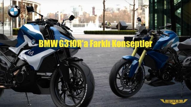 BMW G310R'a Farklı Konseptler