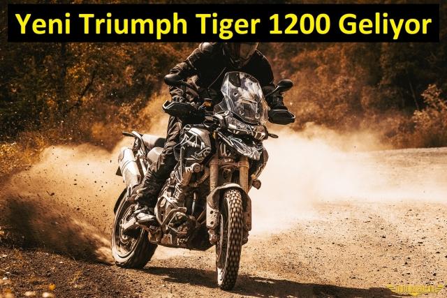 Triumph Tiger 1200'ü Tamamen Yeniliyor