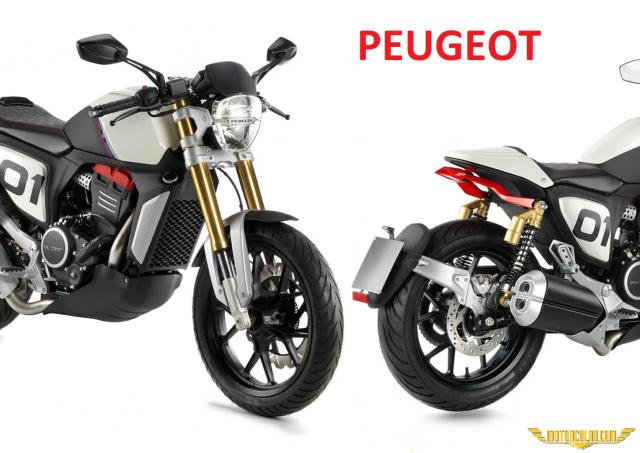 Peugeot Vitesli Motosiklet Üretmeye Başlıyor