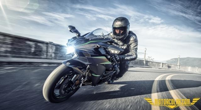 2019 Kawasaki H2 Çıktı