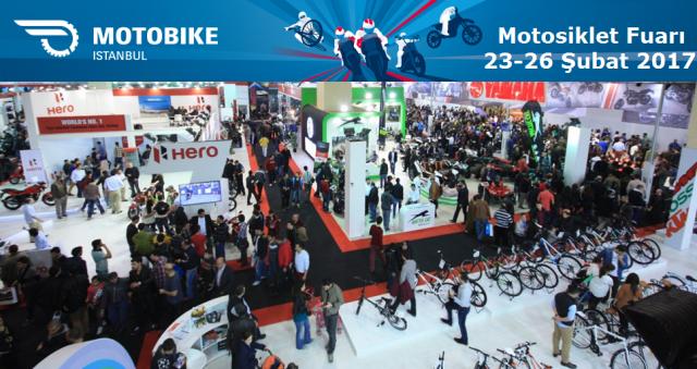 MOTOBIKE / İSTANBUL Motosiklet Fuarı 23-26 Şubat 2017