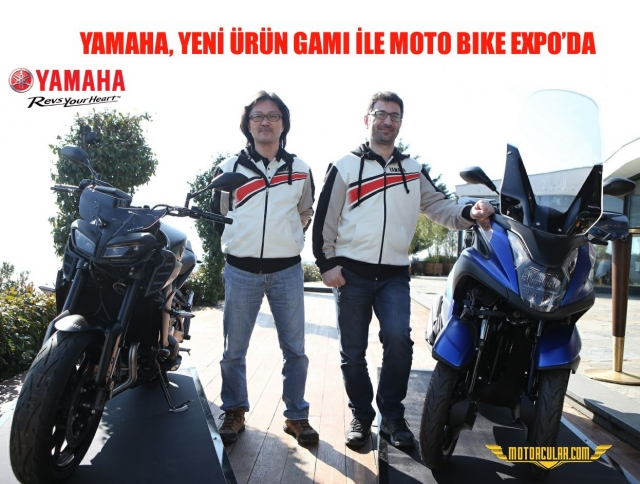 YAMAHA, YENİ ÜRÜN GAMI İLE MOTO BIKE EXPO'DA