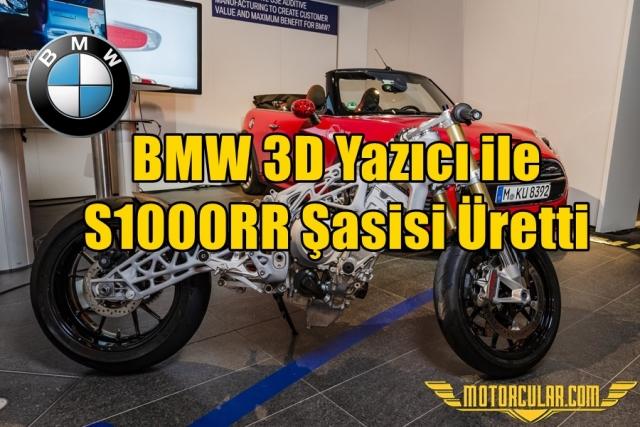 BMW 3D Yazıcı ile S1000RR Şasisi Üretti