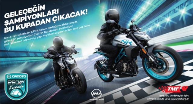 TMF Öncülüğünde CF Moto 250 NK Kupası Düzenlenecek