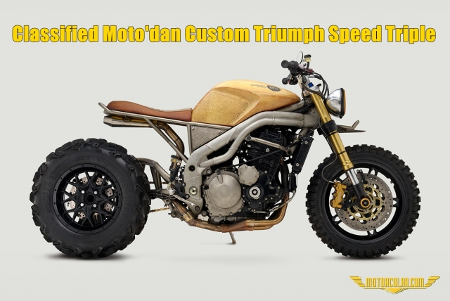 Classified Moto'dan Custom Triumph Speed Triple