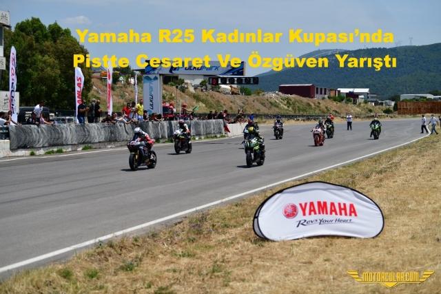 Yamaha R25 Kadınlar Kupası'nda Pistte Cesaret Ve Özgüven Yarıştı