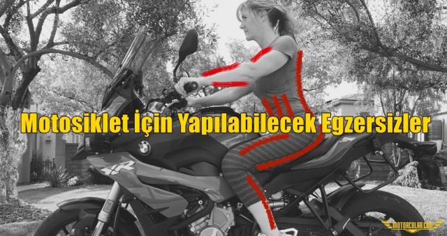 Motosiklet Sezonuna Hazırlanmak İçin Yapılacabilecek Egzersizler