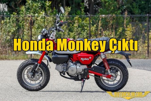Honda Monkey Çıktı