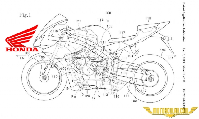 Honda'dan Yeni Fireblade İçin VTEC Patenti