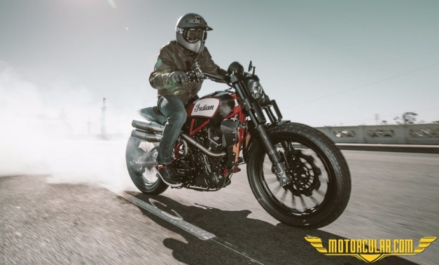 Indian 2019'da FTR1200 Flat Tracker'ı Çıkaracak