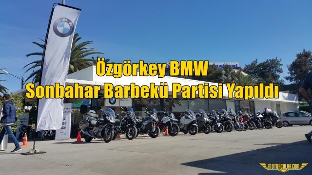 Özgörkey BMW Sonbahar Barbekü Partisi Yapıldı
