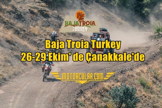 Baja Troia Turkey 26-29 Ekim' de Çanakkale'de