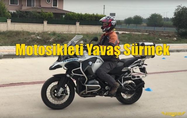 Motosikleti Yavaş Sürmek