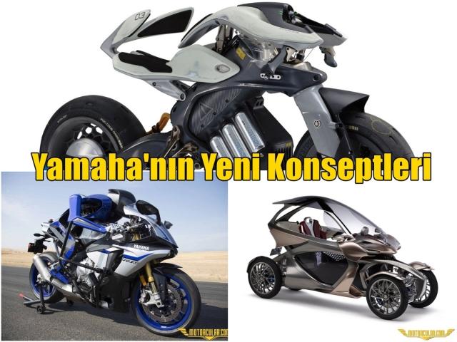 Yamaha'nın Yeni Konseptleri