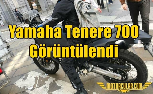 Yamaha Tenere 700 Görüntülendi