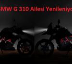 BMW G 310 R ve GS Yenileniyor