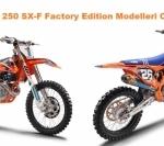 KTM 450 ve 250 SX-F Factory Edition Modelleri Ortaya Çıktı