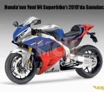 Honda'nın Yeni V4 Superbike'ı 2019'da Sunulacak