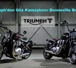 Triumph'dan Göz Kamaştırıcı Bonneville Bobber