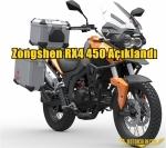 Zongshen RX4 450 Açıklandı