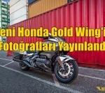 Yeni Honda Gold Wing'in Fotoğrafları Yayınlandı