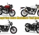Triumph'dan Retro Modellere Yeni Renkler