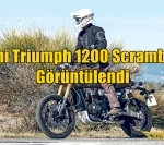 Yeni Triumph 1200 Scrambler Görüntülendi