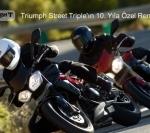 Triumph Street Triple'ın 10. Yıla Özel Renkleri