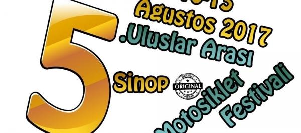 5. Sinop Uluslararası Motosiklet Festivali Yapılacak