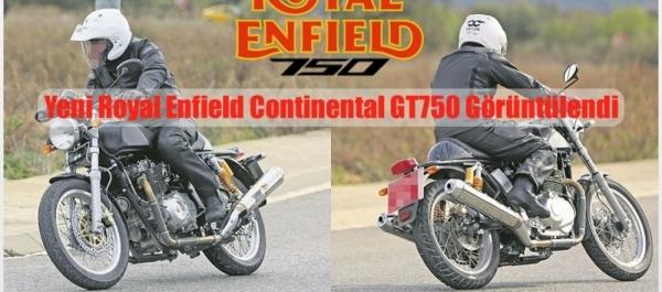 Yeni Royal Enfield Continental GT750 Görüntülendi