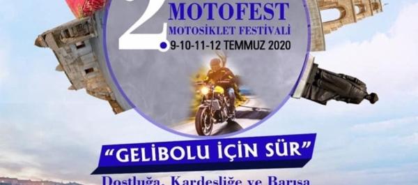 2. Gelibolu Motofest, 09-12 Temmuz 2020 Gelibolu - Çanakkale