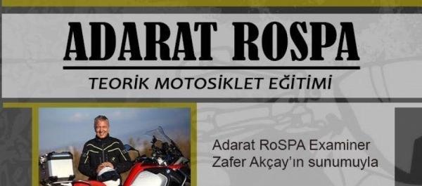 Adarat Rospa Teorik Motosiklet Eğitimi, 21 Aralık 2016