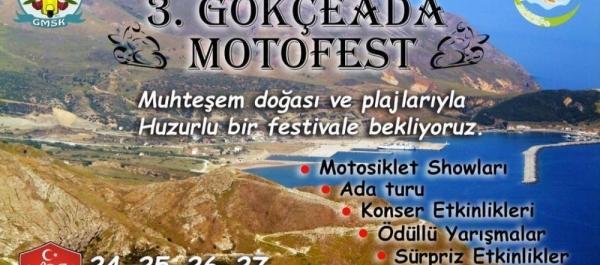 3. Gökçeada Motosiklet Festivali, Gökçeada Çanakkale 24-27 Ağustos 2017