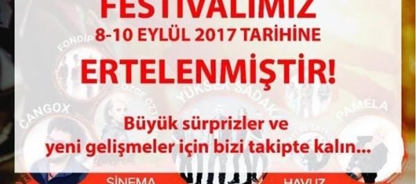 Ride 2 Day Fest İstanbul Şile, 01-02 Temmuz 2017
