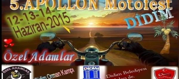 Özel Adamlar Motosiklet Festivali 2015 - Didim