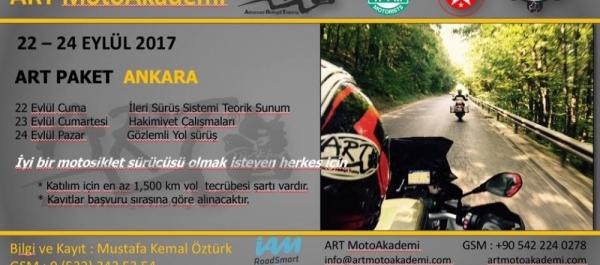 ART MotoAkademi Paket Eğitimi Ankara