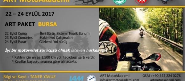 ART MotoAkademi Paket Eğitimi Bursa