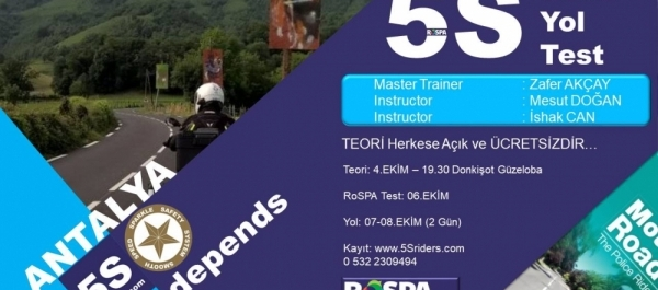 5Sriders Teori Antalya 4 Ekim 2017