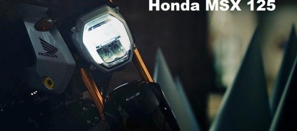 Yeni Honda MSX 125 Grom